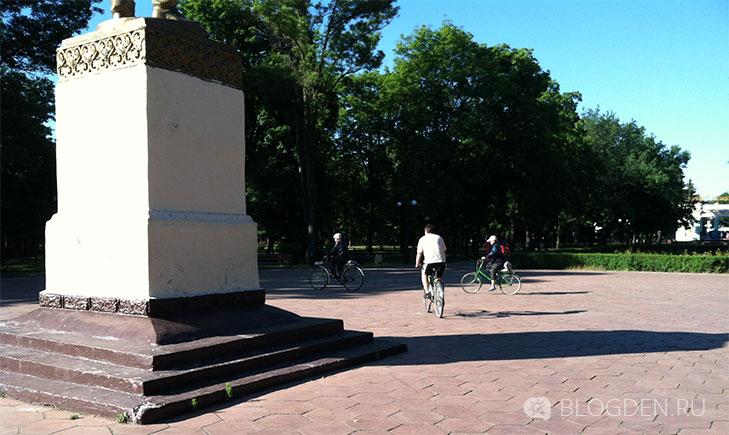 парк победа велосипедисты